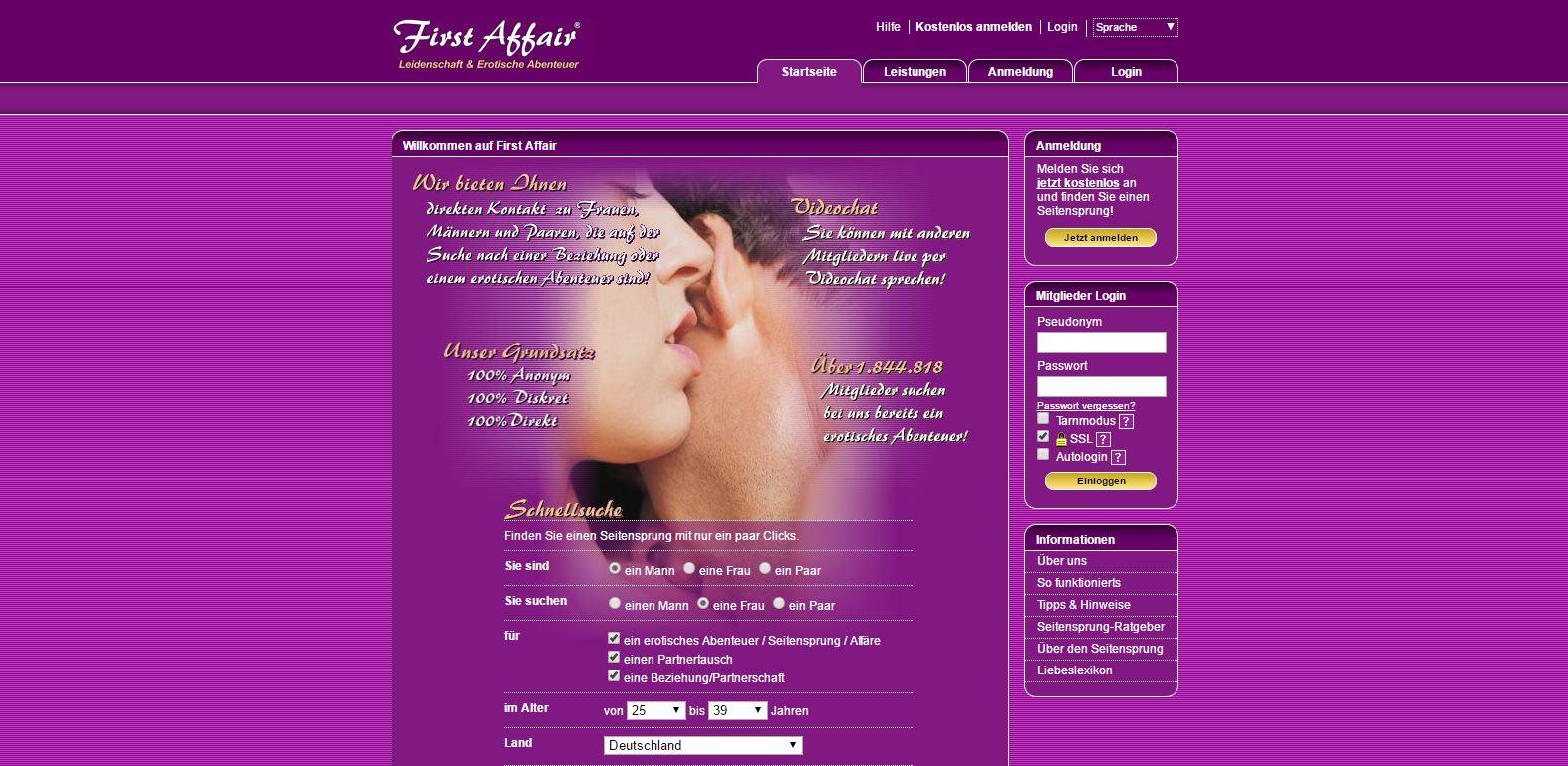 firstaffair.com