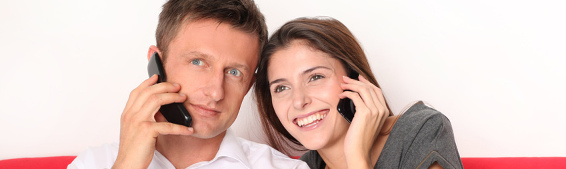Kennenlernen übers Telefon per Flirtline